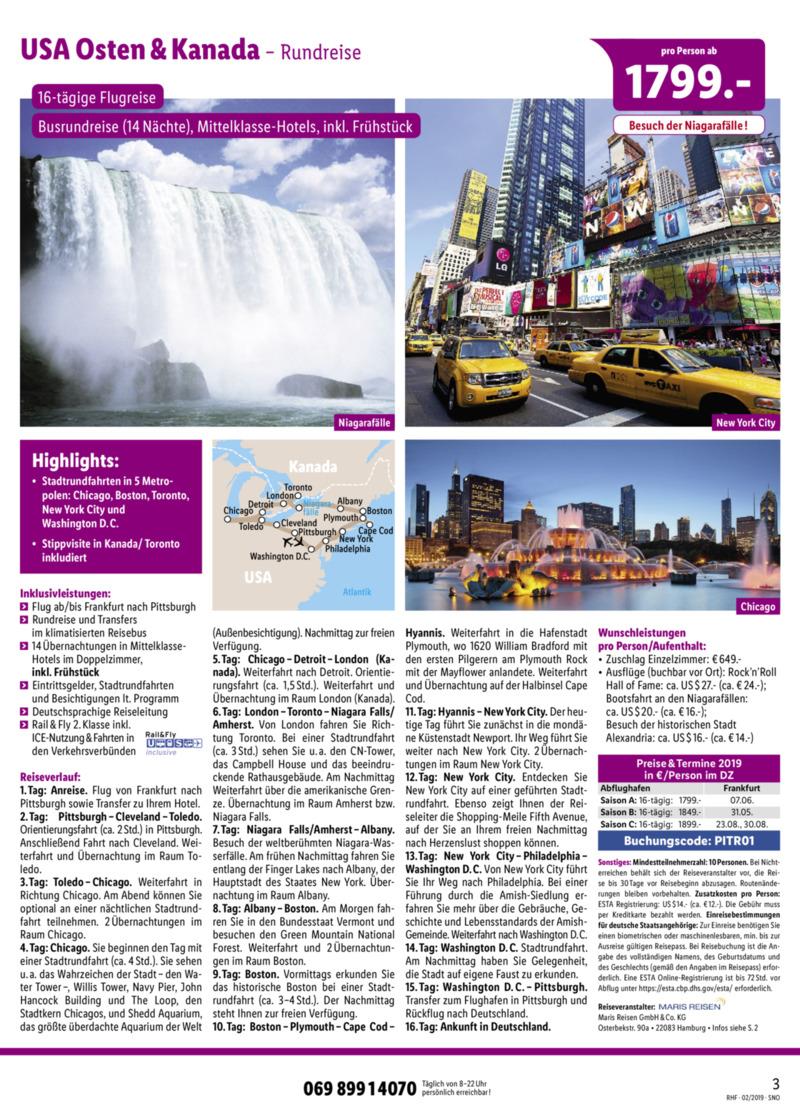 Lidl-Reisen Prospekt vom 01.02.2019, Seite 2