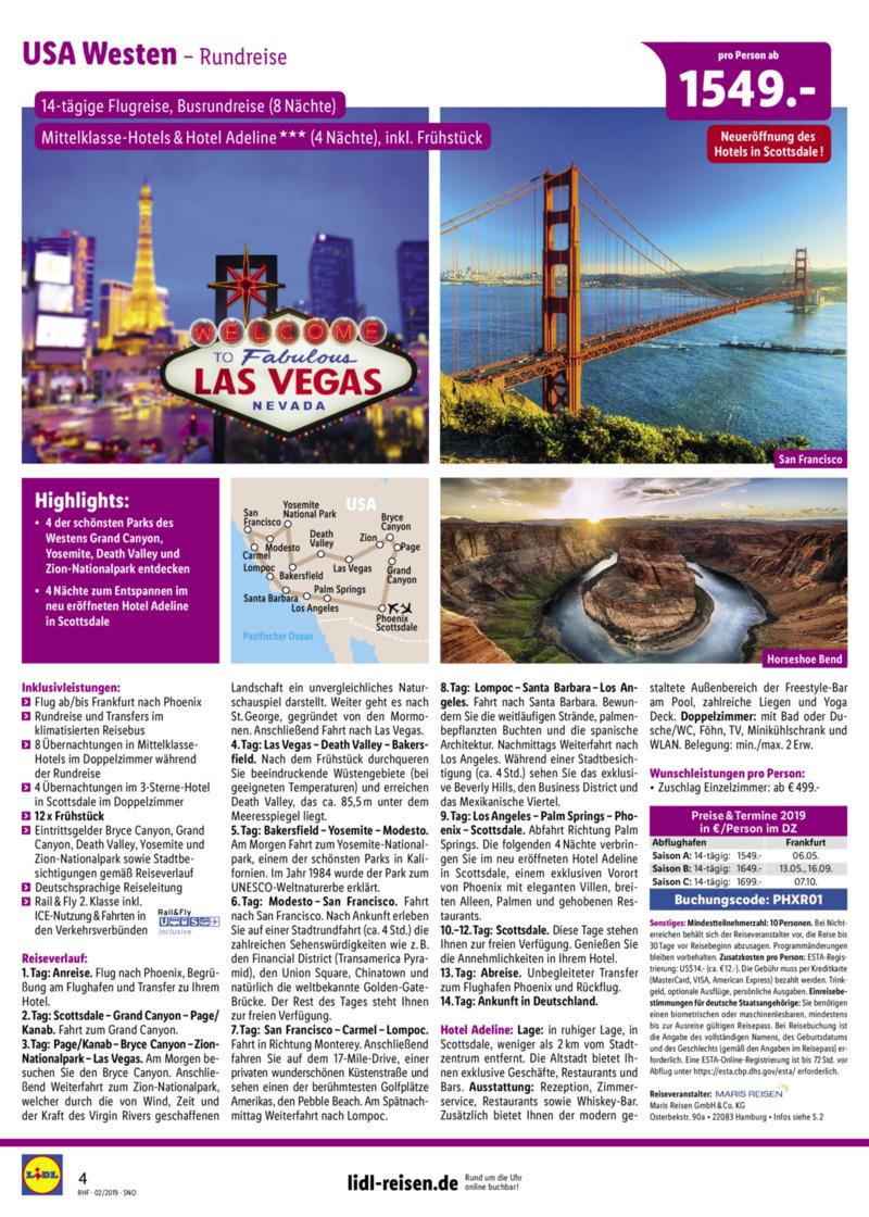 Lidl-Reisen Prospekt vom 01.02.2019, Seite 3