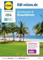 Lidl-Reisen Prospekt vom 15.04.2019