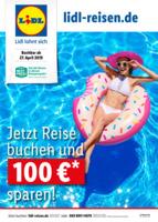 Lidl-Reisen Prospekt vom 27.04.2019