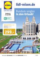 Lidl-Reisen Prospekt vom 15.06.2019