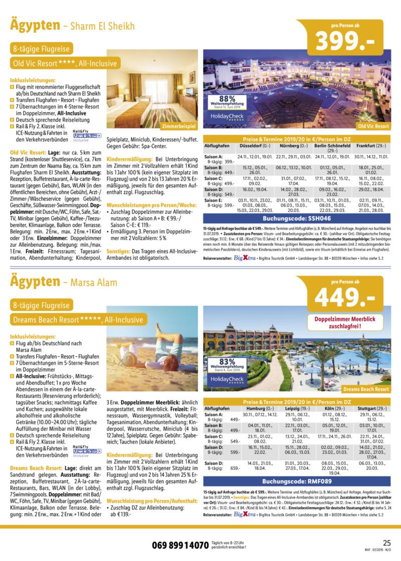 Lidl-Reisen Prospekt vom 01.07.2019, Seite 24