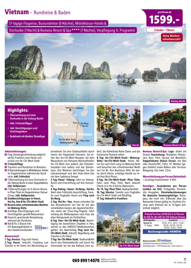 Lidl-Reisen Prospekt vom 15.07.2019, Seite 10