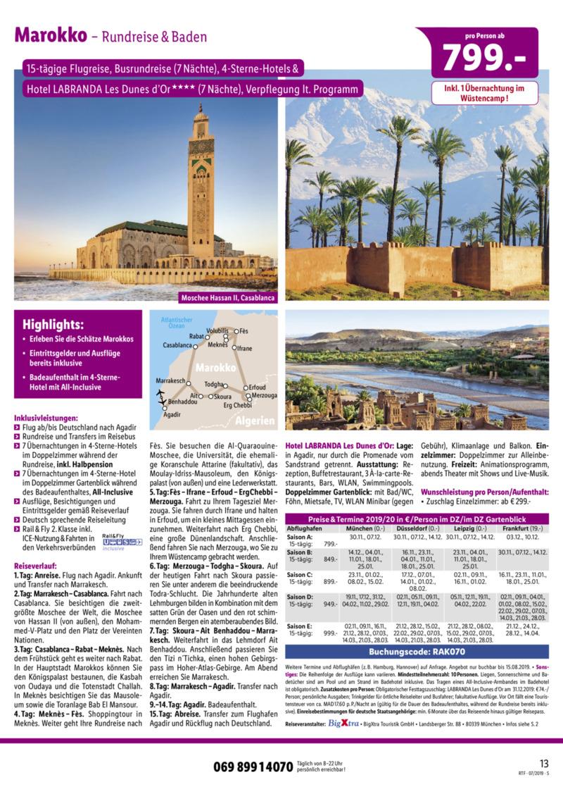 Lidl-Reisen Prospekt vom 15.07.2019, Seite 12
