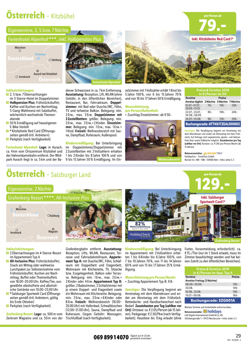Lidl-Reisen Prospekt vom 15.07.2019, Seite 28