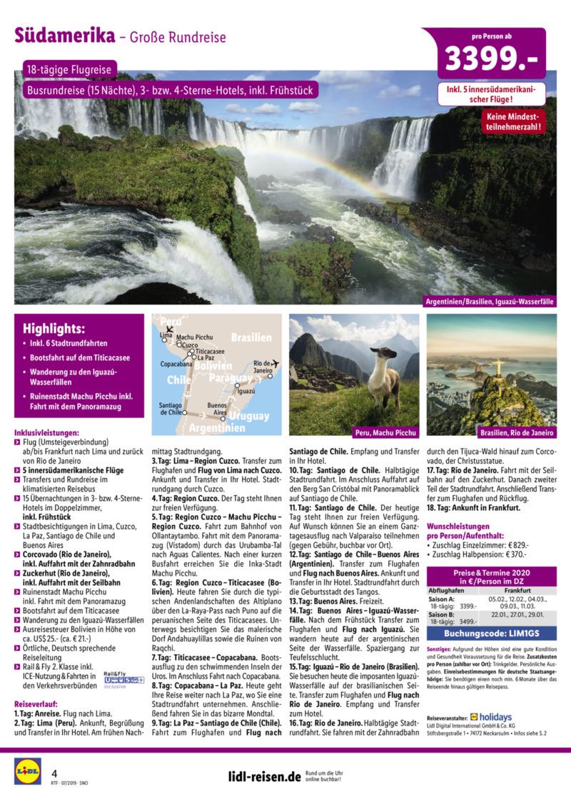 Lidl-Reisen Prospekt vom 15.07.2019, Seite 3