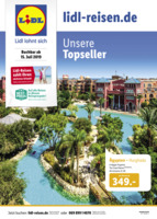 Lidl-Reisen Prospekt vom 15.07.2019