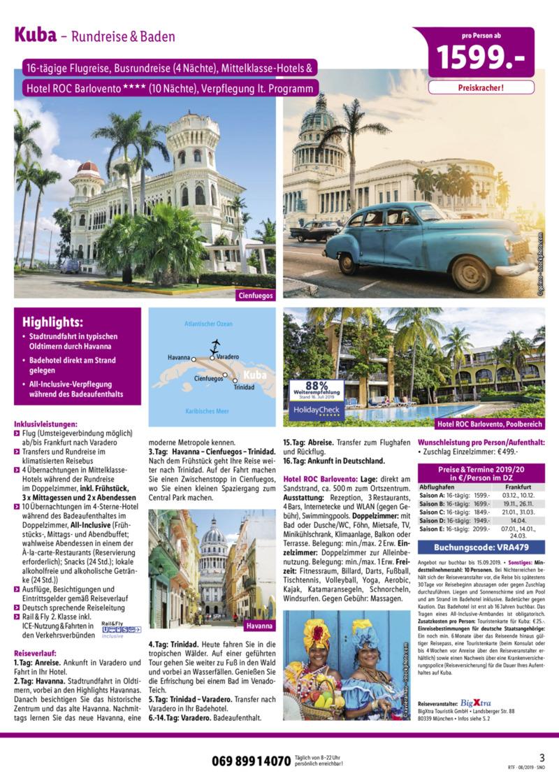 Lidl-Reisen Prospekt vom 15.08.2019, Seite 2