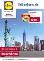 Lidl-Reisen Prospekt vom 15.10.2019