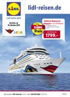 Lidl-Reisen Prospekt vom 28.10.2019