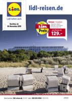 Lidl-Reisen Prospekt vom 01.12.2019