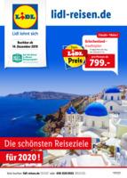 Lidl-Reisen Prospekt vom 14.12.2019