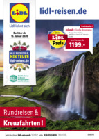 Lidl-Reisen Prospekt vom 15.01.2020