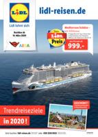 Lidl-Reisen Prospekt vom 15.03.2020