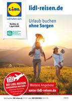 Lidl-Reisen Prospekt vom 01.04.2020