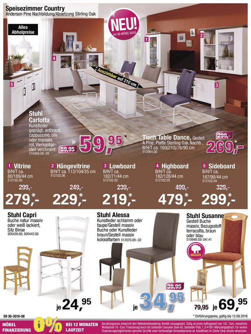 m bel boss prospekt vom bis bl ttern. Black Bedroom Furniture Sets. Home Design Ideas