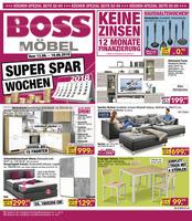 Möbel Boss Prospekt vom 13.08.2018