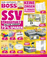 Möbel Boss Prospekt vom 17.06.2019