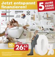 Möbel-Kraft Prospekt vom 24.09.2016