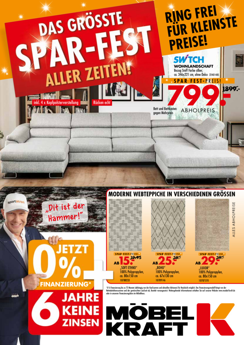 Möbel-Kraft Prospekt vom 01.02.2019, Seite