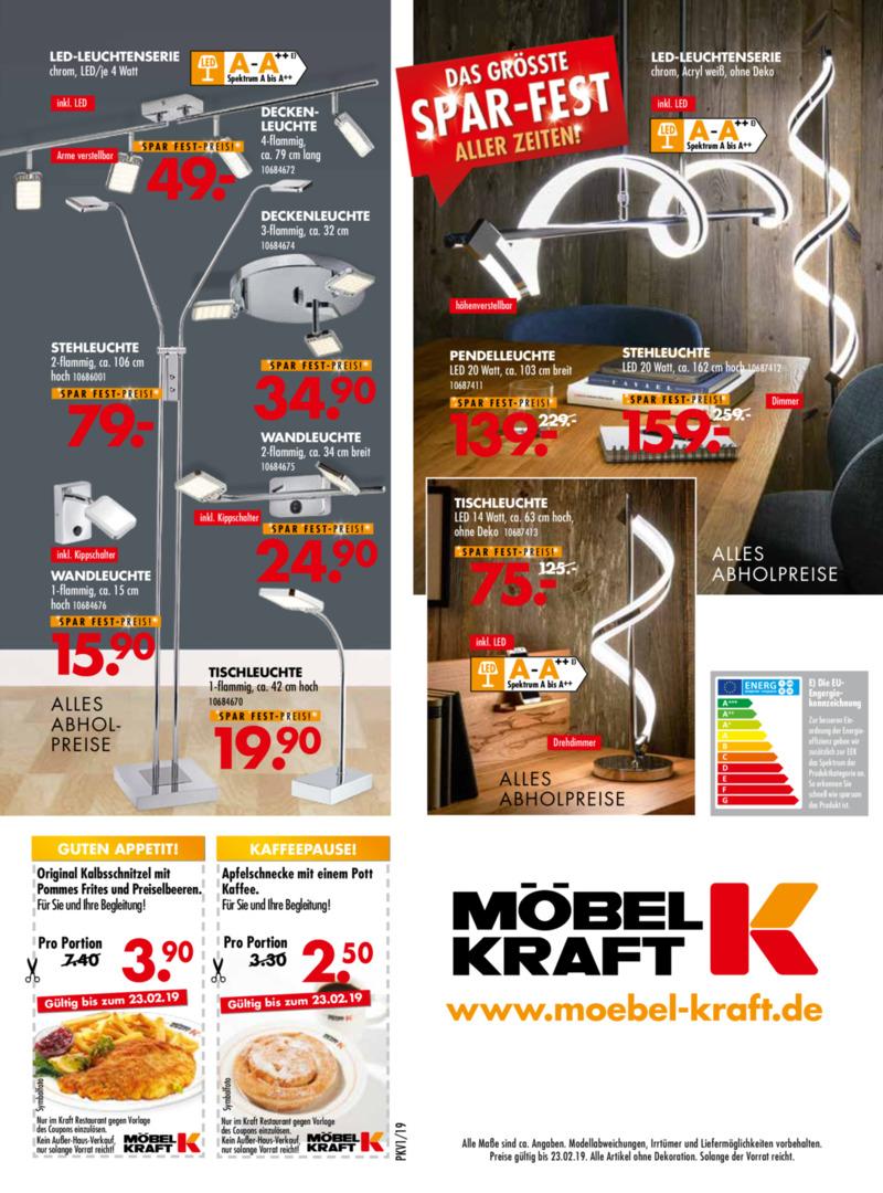 Möbel-Kraft Prospekt vom 01.02.2019, Seite 23