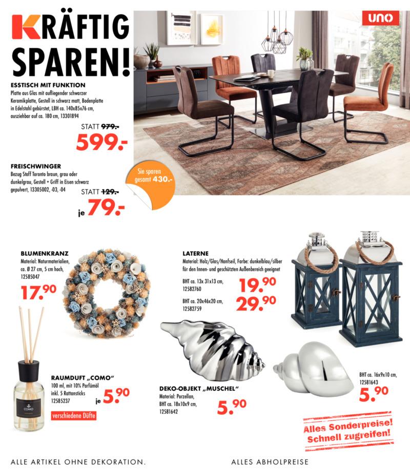 Möbel-Kraft Prospekt vom 29.04.2019, Seite