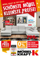 Möbel-Kraft Prospekt vom 07.08.2019