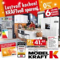 Möbel-Kraft Prospekt vom 14.08.2019