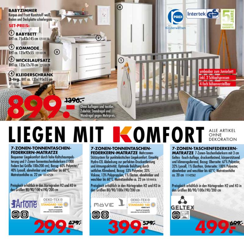 Möbel-Kraft Prospekt vom 21.08.2019, Seite 3