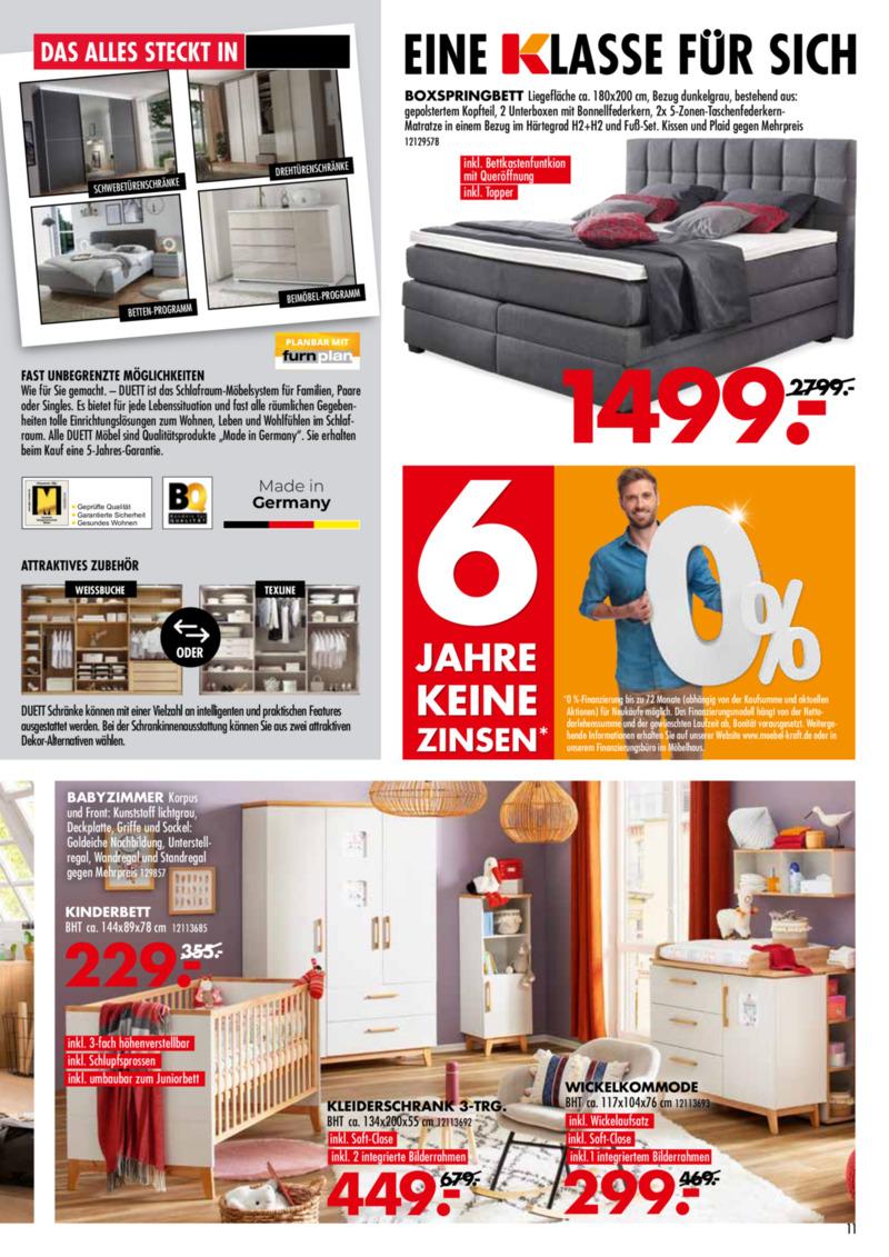 Möbel-Kraft Prospekt vom 18.09.2019, Seite 10