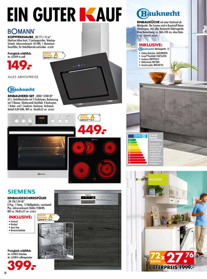 Möbel-Kraft Prospekt vom 18.09.2019, Seite 17