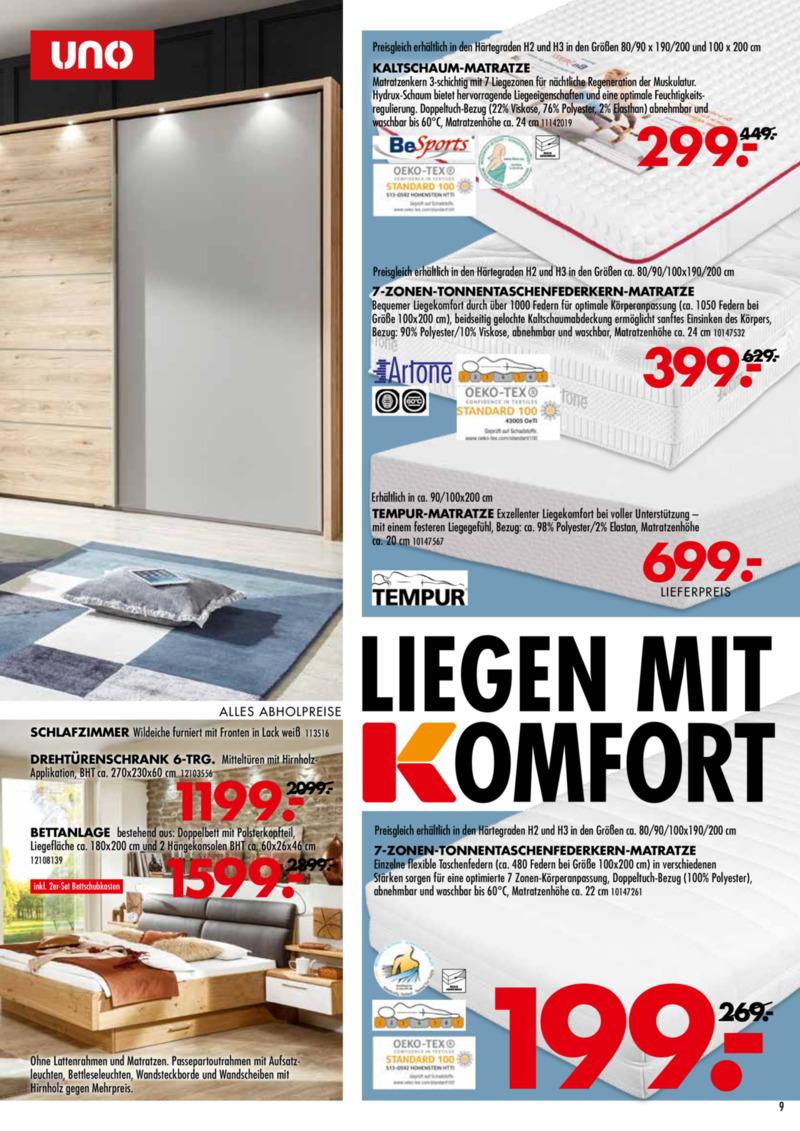 Möbel-Kraft Prospekt vom 18.09.2019, Seite 8