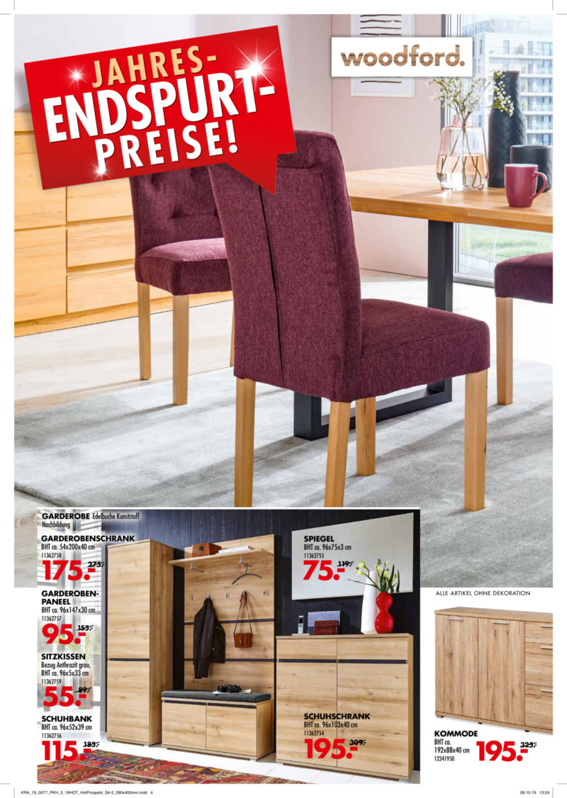 Möbel-Kraft Prospekt vom 06.11.2019, Seite 3