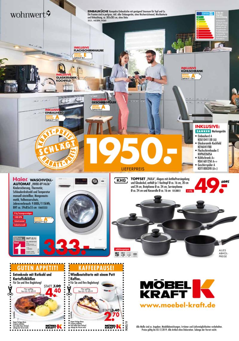 Möbel-Kraft Prospekt vom 06.11.2019, Seite 7