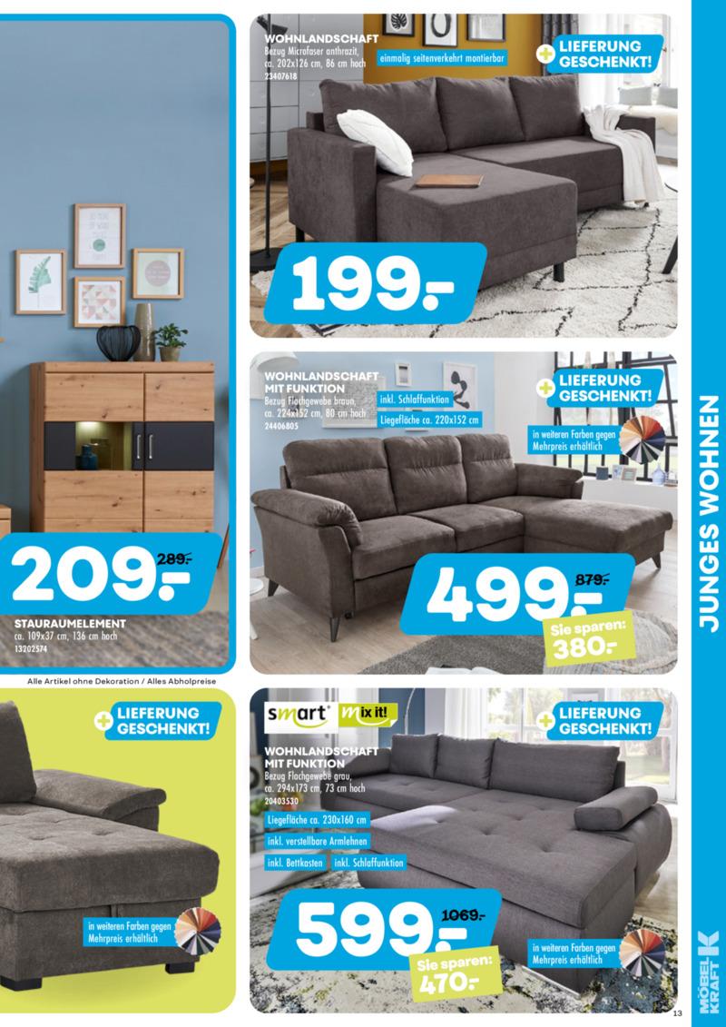 Möbel-Kraft Prospekt vom 20.05.2020, Seite 12