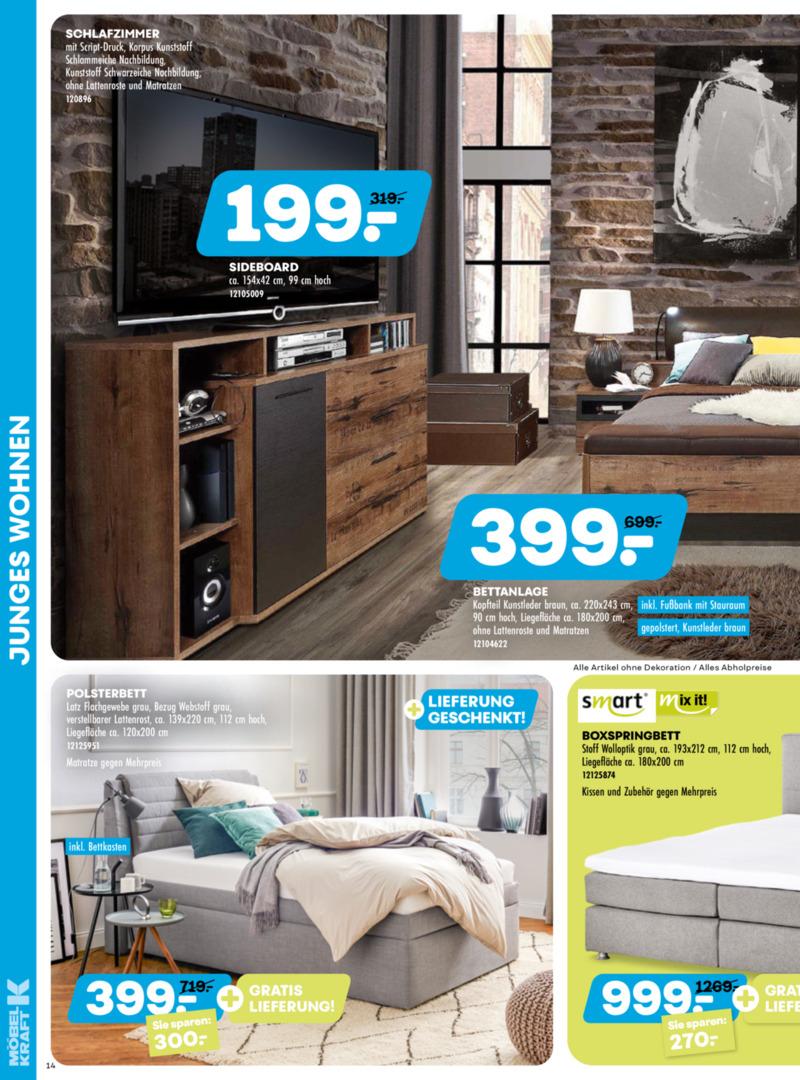 Möbel-Kraft Prospekt vom 20.05.2020, Seite 13