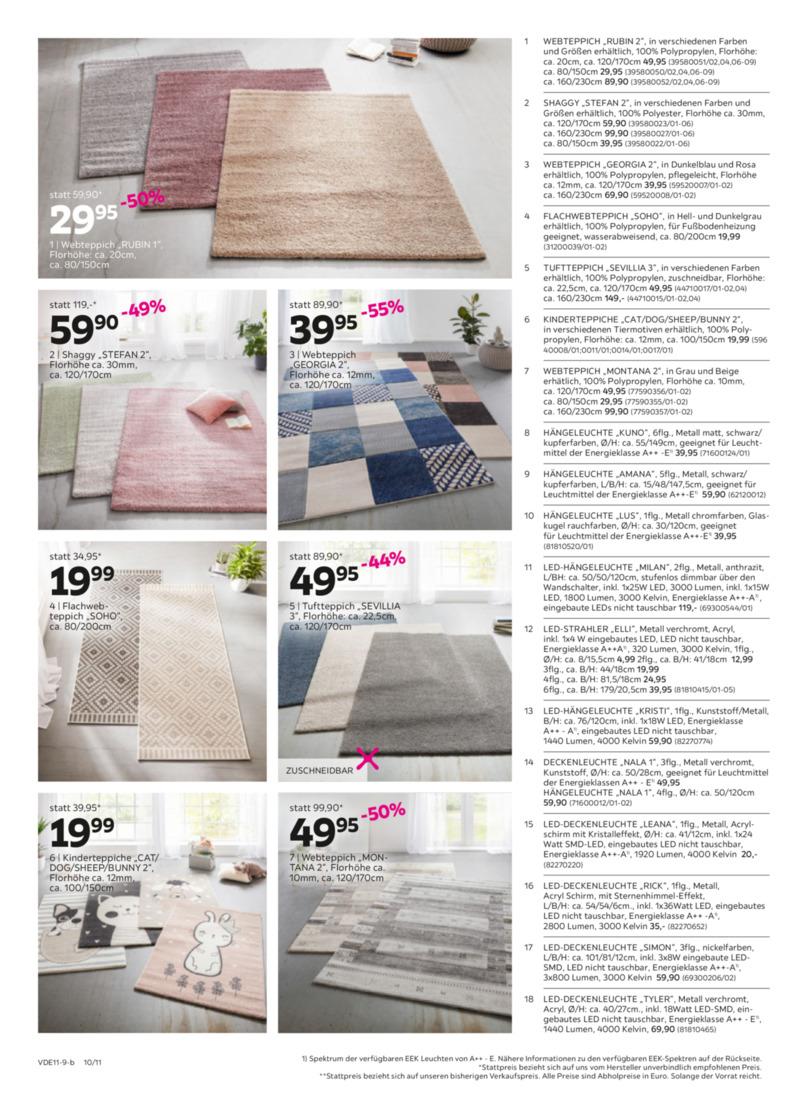 Mömax Prospekt vom 04.11.2019, Seite 9
