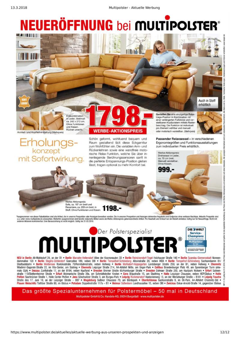 Multipolster Prospekt vom 12.03.2018, Seite 11