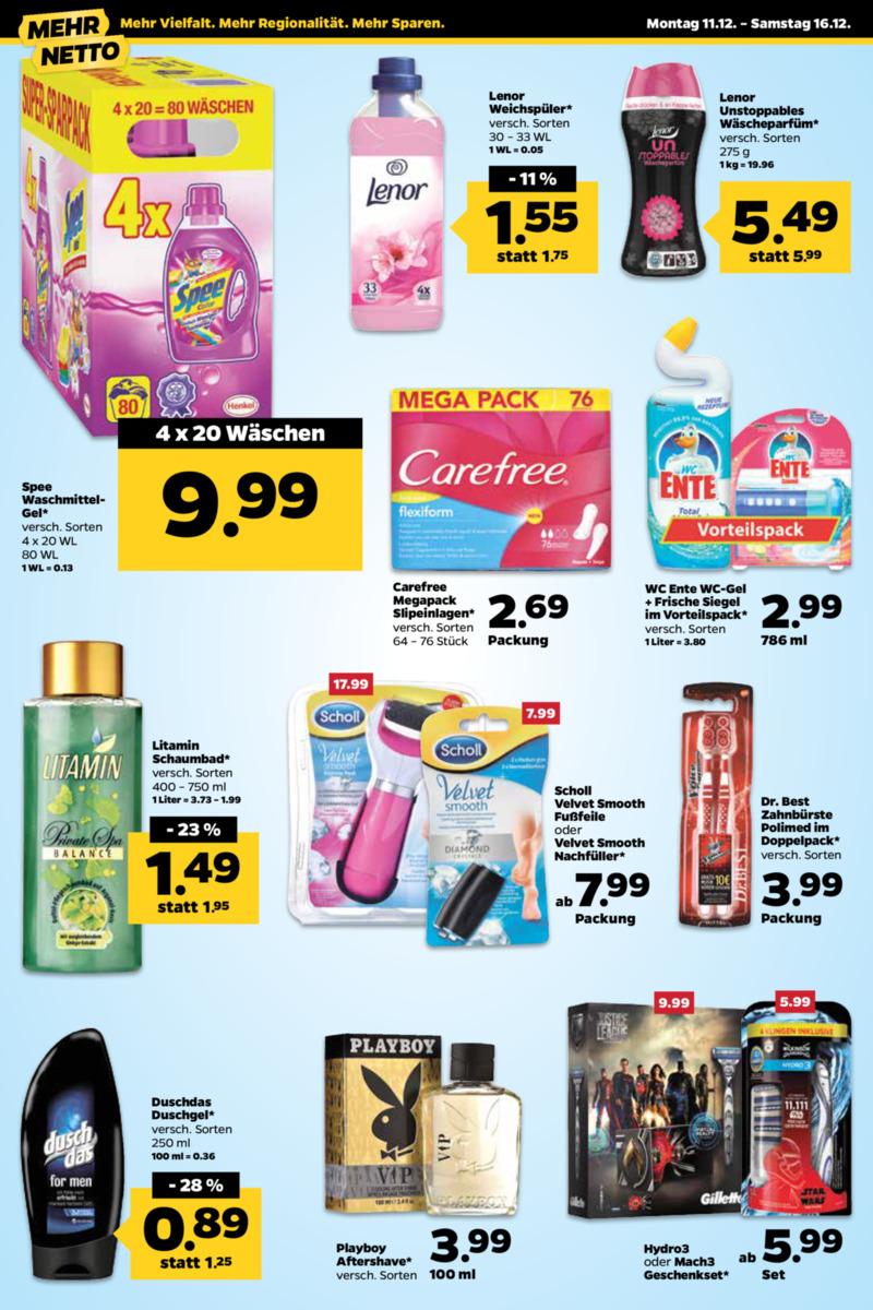 NETTO Supermarkt Prospekt vom 11.12.2017, Seite 11