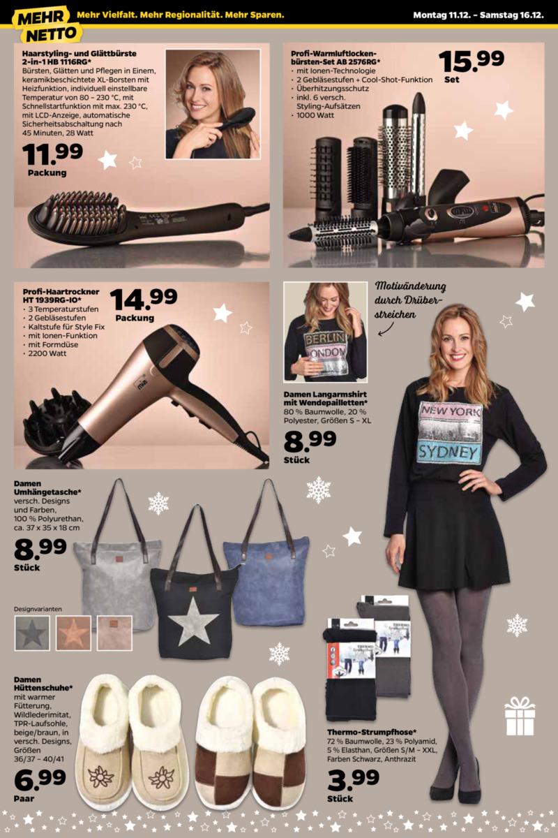 NETTO Supermarkt Prospekt vom 11.12.2017, Seite 13