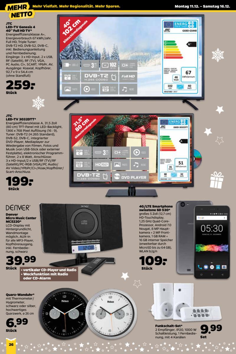 NETTO Supermarkt Prospekt vom 11.12.2017, Seite 17