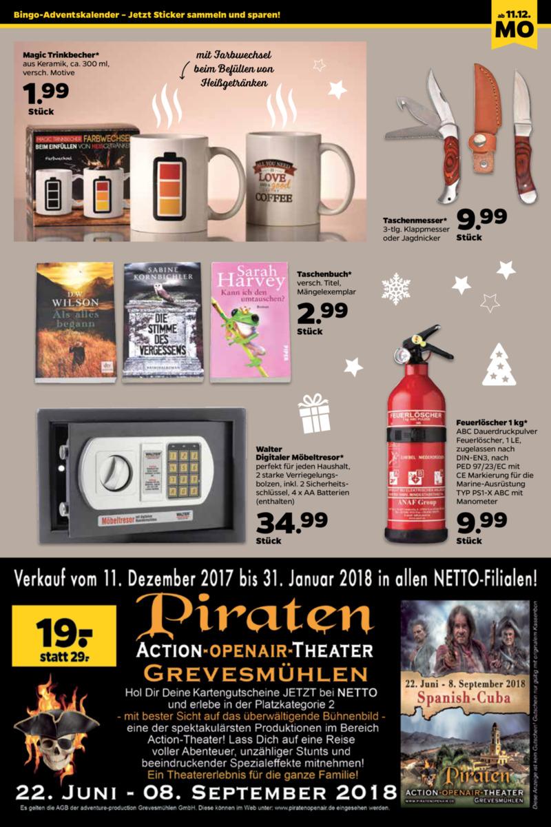 NETTO Supermarkt Prospekt vom 11.12.2017, Seite 18
