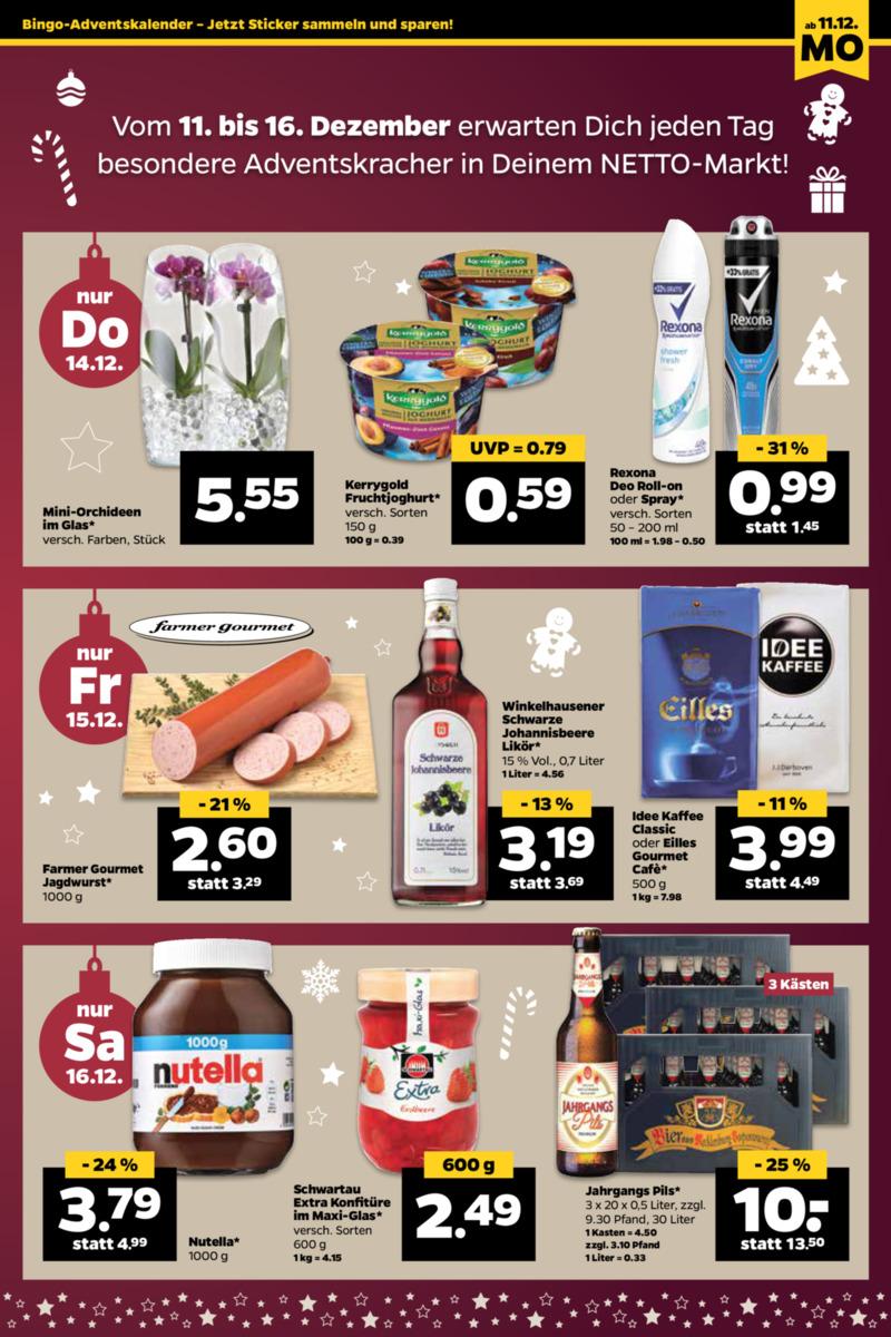 NETTO Supermarkt Prospekt vom 11.12.2017, Seite 22