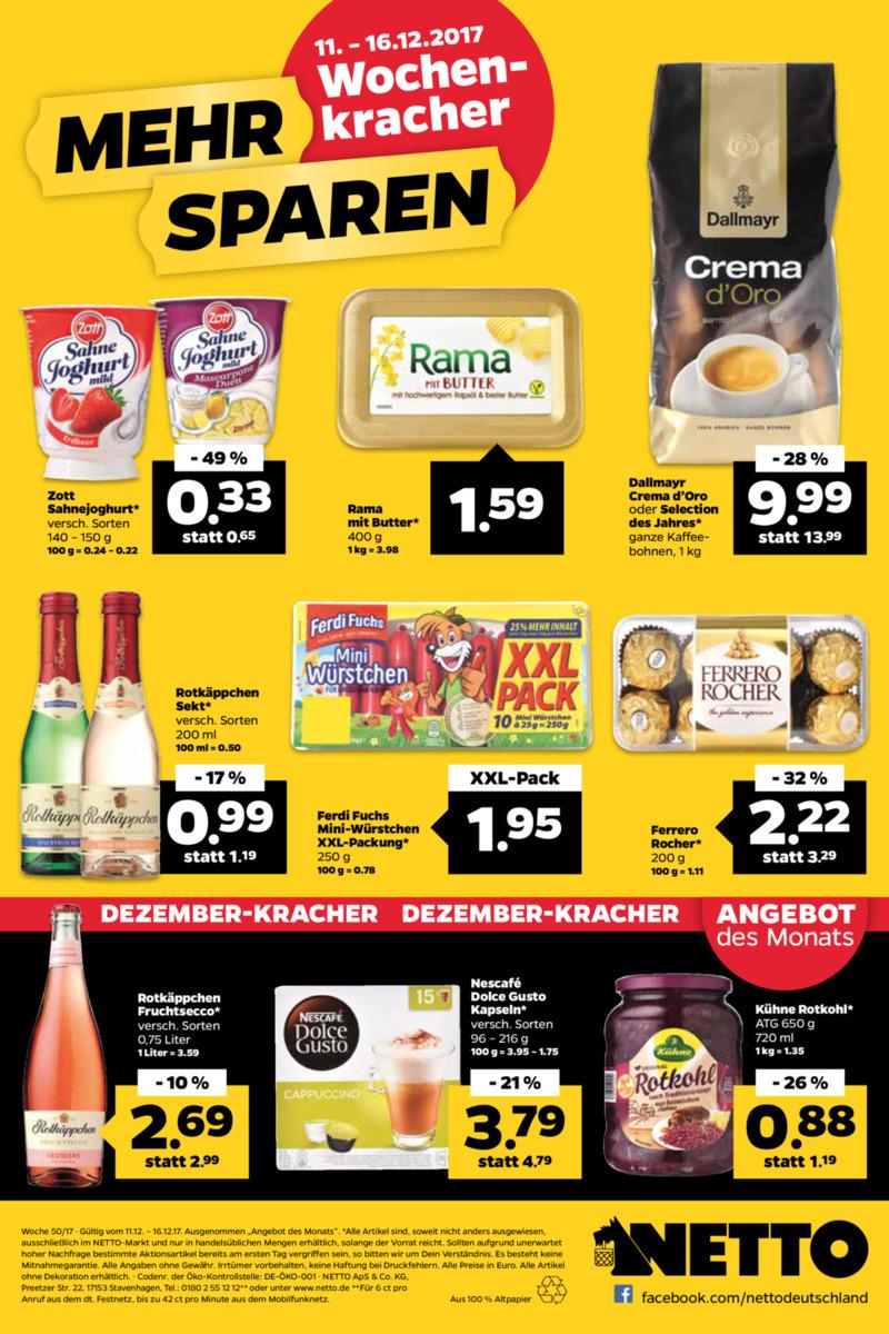 NETTO Supermarkt Prospekt vom 11.12.2017, Seite 23