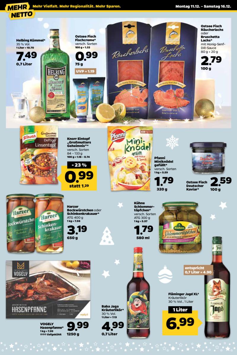 NETTO Supermarkt Prospekt vom 11.12.2017, Seite 3