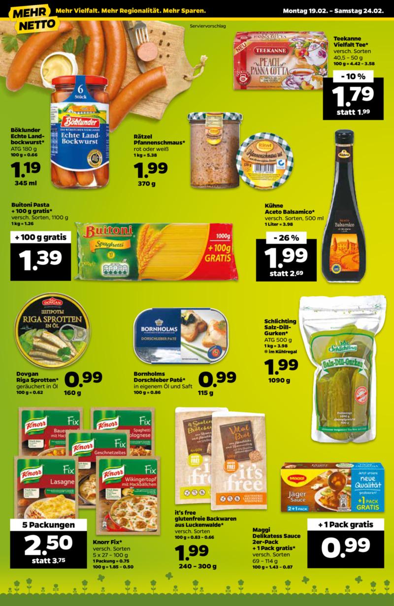 NETTO Supermarkt Prospekt vom 19.02.2018, Seite 11
