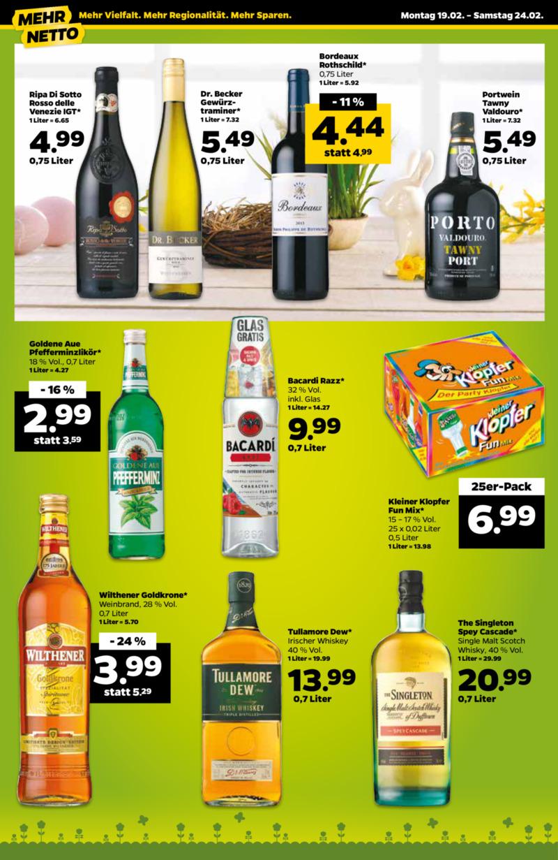 NETTO Supermarkt Prospekt vom 19.02.2018, Seite 13