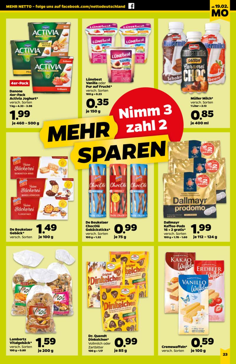 NETTO Supermarkt Prospekt vom 19.02.2018, Seite 14