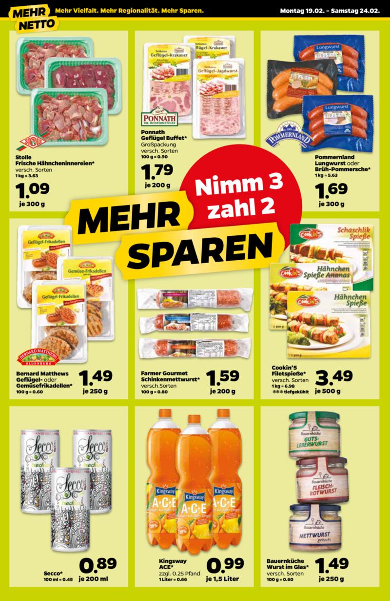 NETTO Supermarkt Prospekt vom 19.02.2018, Seite 15