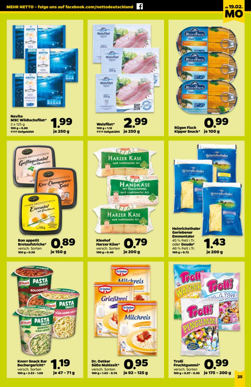 NETTO Supermarkt Prospekt vom 19.02.2018, Seite 16